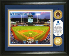 Kansas City Royals Dirt Coin Photo Mint