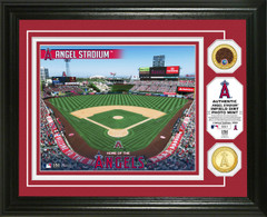 Los Angeles Angels Dirt Coin Photo Mint
