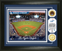 Los Angeles Dodgers Dirt Coin Photo Mint