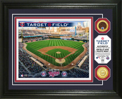 Minnesota Twins Dirt Coin Photo Mint