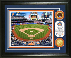 New York Mets Dirt Coin Photo Mint