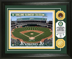 Oakland A's Dirt Coin Photo Mint