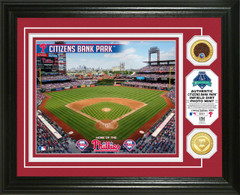 Philadelphia Phillies Dirt Coin Photo Mint