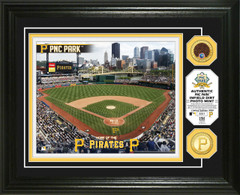 Pittsburgh Pirates Dirt Coin Photo Mint