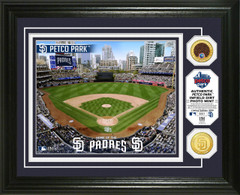 San Diego Padres Dirt Coin Photo Mint