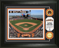 San Francisco Giants Dirt Coin Photo Mint