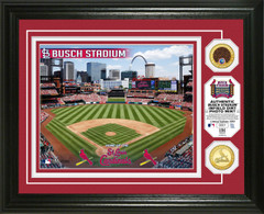 St. Louis Cardinals Dirt Coin Photo Mint