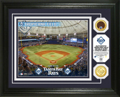 Tampa Bay Rays Dirt Coin Photo Mint