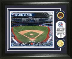 Toronto Blue Jays Dirt Coin Photo Mint