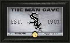 Chicago White Sox Man Cave Panoramic Bronze Coin Photo Mint