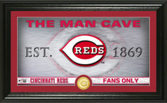 Cincinnati Reds Man Cave Panoramic Bronze Coin Photo Mint
