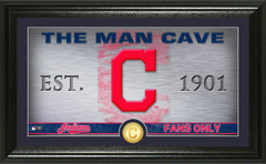Cleveland Indians Man Cave Panoramic Bronze Coin Photo Mint