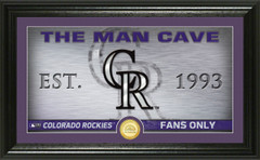 Colorado Rockies Man Cave Panoramic Bronze Coin Photo Mint