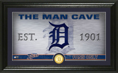 Detroit Tigers Man Cave Panoramic Bronze Coin Photo Mint
