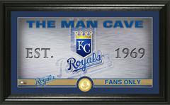 Kansas City Royals Man Cave Panoramic Bronze Coin Photo Mint