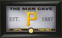 Pittsburgh Pirates Man Cave Panoramic Bronze Coin Photo Mint