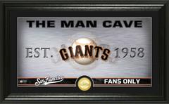 San Francisco Giants Man Cave Panoramic Bronze Coin Photo Mint
