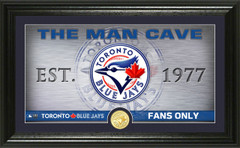 Toronto Blue Jays Man Cave Panoramic Bronze Coin Photo Mint