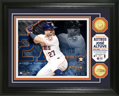 Jose Altuve Bronze Coin Photo Mint