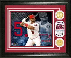 Albert Pujols Bronze Coin Photo Mint