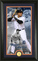 Miguel Cabrera Supreme Bronze Coin Photo Mint