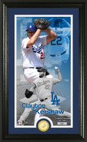Clayton Kershaw Supreme Bronze Coin Photo Mint