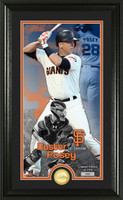 Buster Posey Supreme Bronze Coin Photo Mint
