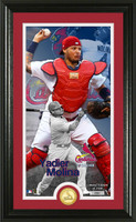 Yadier Molina Supreme Bronze Coin Photo Mint