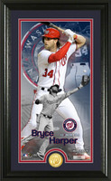Bryce Harper Supreme Bronze Coin Photo Mint