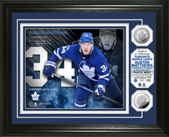 Auston Matthews Silver Coin Photo Mint