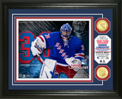 Henrik Lundqvist Bronze Coin Photo Mint