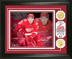 Dylan Larkin Bronze Coin Photo Mint