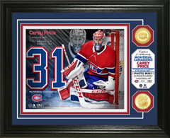 Carey Price Bronze Coin Photo Mint