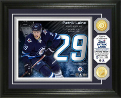 Patrik Laine Bronze Coin Photo Mint