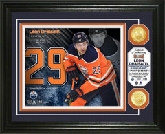 Leon Draisaitl Bronze Coin Photo Mint