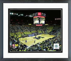Crisler Center Michigan Basketball Framed Print