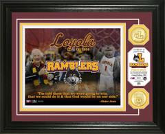 "Loyola University  Ramblers ""Sister Jean"" Basketball Bronze Coin Photo Mint"