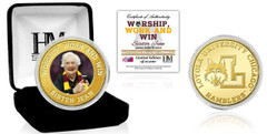 """Loyola University Ramblers """"Sister Jean"""" Quote Bronze Mint Coin"""