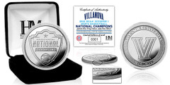 Villanova University 2018 NCAA Men's Basketball National Champions Pure Silver Mint Coin