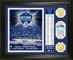 Villanova University 2018 NCAA Men's Basketball National Champions Banner Bronze Coin Photo Mint