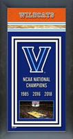 Villanova 2018 Framed Championship Banner