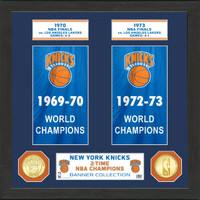 "New York Knicks ""Banner"" Bronze Coin Photo Mint"