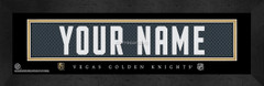 Vegas Golden Knights Personalized Jersey Nameplate