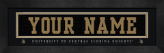 UCF Knights Personalized Jersey Nameplate