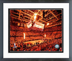 Cleveland Cavaliers Quicken Loan Arena Framed Print