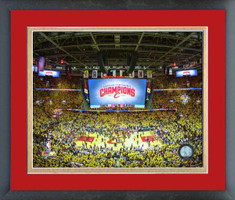 Cleveland Cavaliers Eastern Conference Champs Framed Print