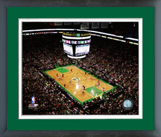 Boston Celtics TD Garden Framed Picture