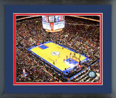 Philadelphia 76ers Wells Fargo Center Framed Print