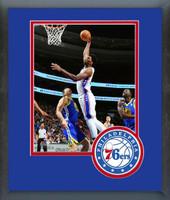 Philadelphia 76ers Joel Embiid Framed Print