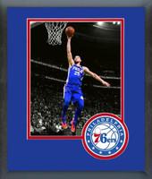 Philadelphia 76ers Ben Simmons Framed Print